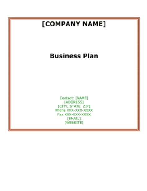 Catering services business plan sample